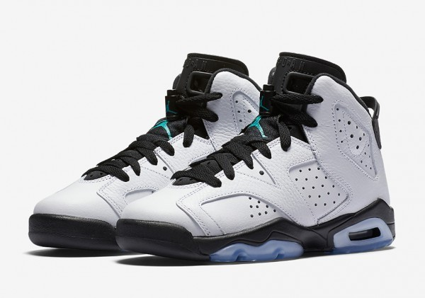air-jordan-6-gs-white-black-aqua-1