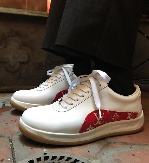 シュプリーム x ルイヴィトン】Supreme x Louis Vuitton Sneakers【2017年
