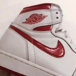 "【2017年夏復刻】Air Jordan 1 High ""White/University red""【エアジョーダン1】"