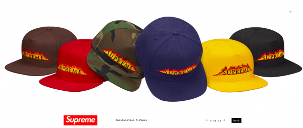 Supreme Annihilation 5 Panel