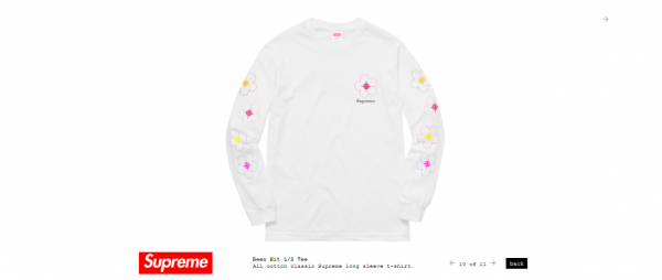 Supreme Been Hit L S Tee
