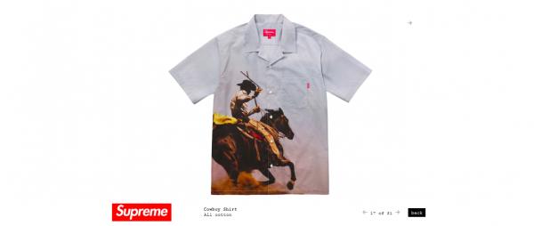 Supreme Cowboy Shirt