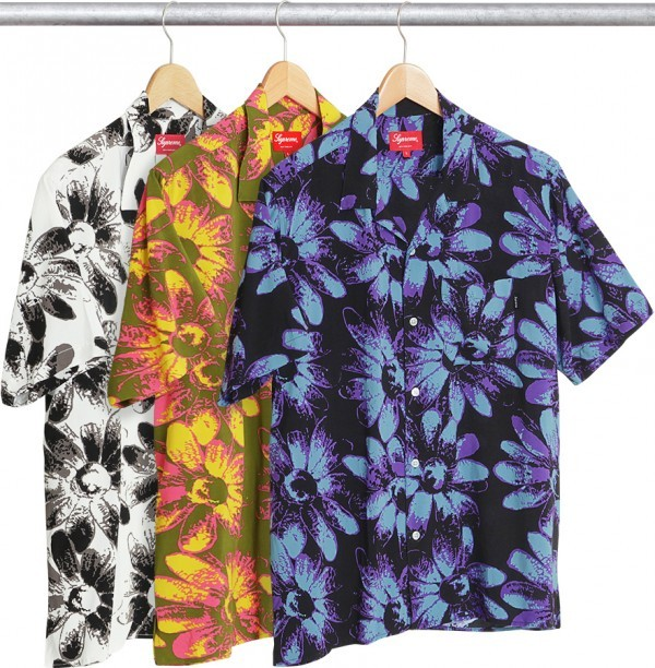 Supreme Daisy Rayon Shirt-01
