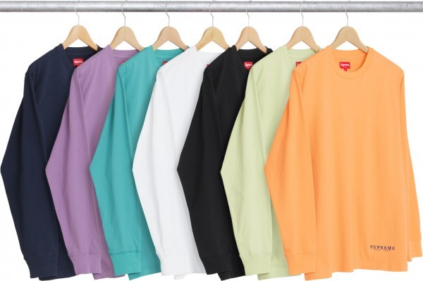 Supreme Department L S Tee-01