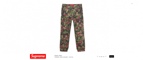 Supreme Field Pant