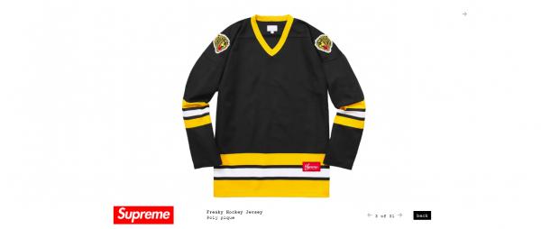 Supreme Freaky Hockey Jersey