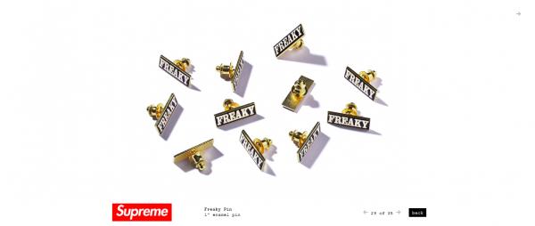 Supreme Freaky Pin