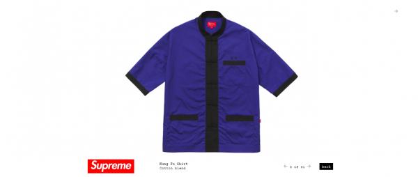 Supreme Kung Fu Shirt