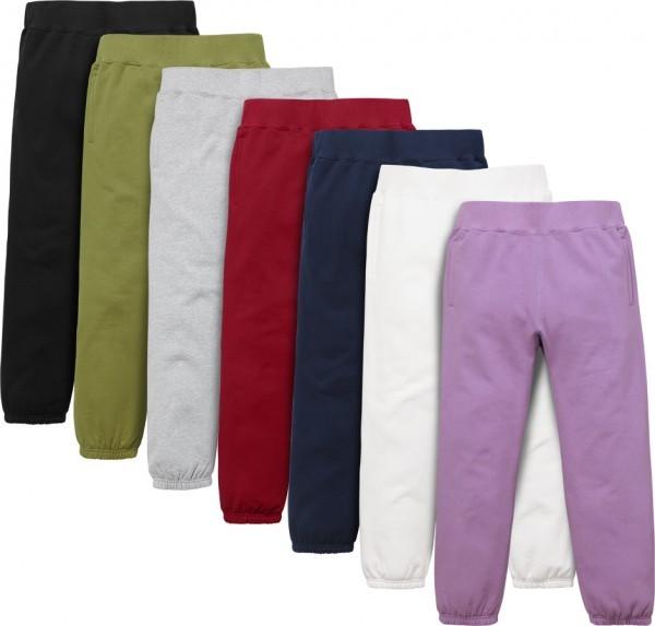Supreme Multi Color Classic Logo Sweatpant-01