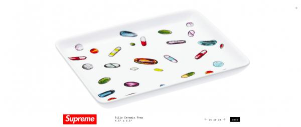Supreme Pills Ceramic Tray