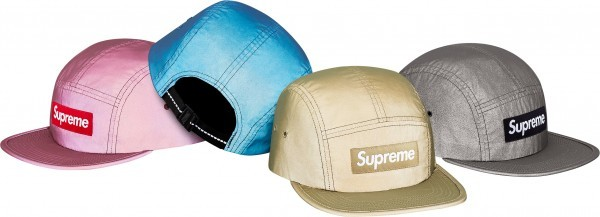 Supreme Reflective Camp Cap-01