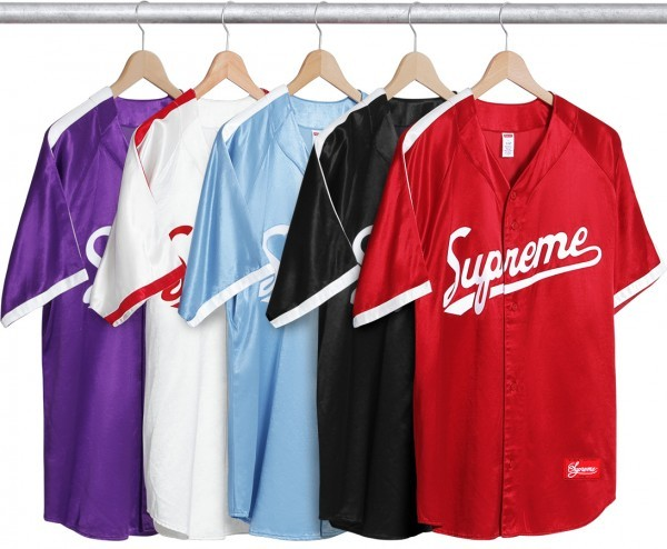 Supreme Satin Baseball Jersey-01