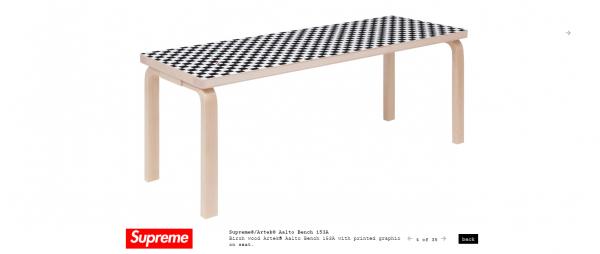 Supreme Supreme® Artek® Aalto Bench 153A