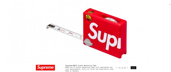 Supreme Supreme® BMI® Pocket Measuring Tape