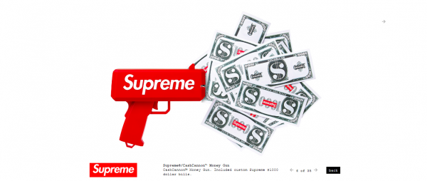 Supreme Supreme® CashCannon™ Money Gun