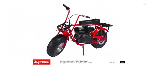 Supreme Supreme® Coleman® CT200U Mini Bike