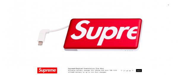 Supreme Supreme® Mophie® Powerstation Plus Mini