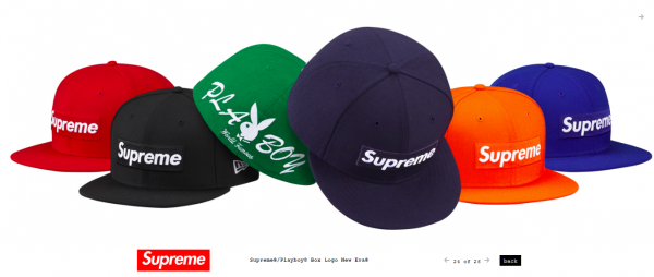 Supreme Supreme® Playboy© Box Logo New Era®