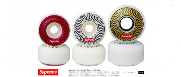 Supreme Supreme® Spitfire® Classic Wheels