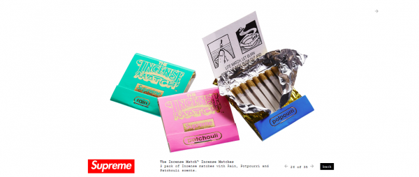 Supreme The Incense Match™ Incense Matches