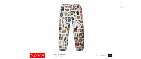 Supreme Thrills Sweatpant