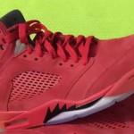 """【7月1日発売】Air Jordan 5 """"Red Suede""""【エアジョーダン5 レッドスエード】"""