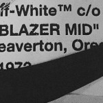 【リーク】OFF-WHITE x Nike Blazer Mid Collaboration!!!!?【オフホワイト x ナイキ ブレザー ミッド】