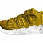 """【3色出揃う】Supreme x Nike More Uptempo """"Suptempo"""" 全世界デビュー【シュプテンポ】"""