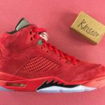 """【続報:追加画像】Air Jordan 5 """"Red Suede""""【エアジョーダン5 レッドスエード】"""