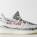 """【2月25日:限定発売】adidas Yeezy Boost 350 V2 """"Zebra""""【イージーブースト350 V2】"""