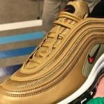 """【5月復刻】Nike Air Max 97 """"Metallic Gold""""【ナイキ エアマックス97 メタリックゴールド】"""