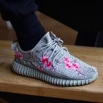 """【新作】adidas Yeezy Boost 350 """"Moonrock-cherry blossom"""" 【イージーブースト350ムーンロック】"""