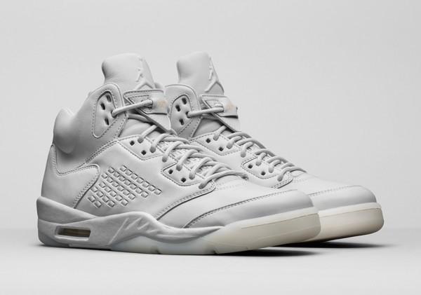"""Air Jordan 5 Premium """"Pure Platinum"""""""