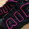 """【4月1日発売】Nike Air More Uptempo """"Black & Pink""""【エア モア アップテンポ】"""