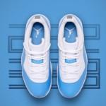 """【本日9:00発売】エア ジョーダン 11 LOW レトロ【Air Jordan 11 Low Retro """"UNIVERSITY BLUE""""】"""