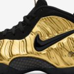 """【2017年10月発売】Nike Air Foamposite Pro """"Metallic Gold""""【ナイキ エア フォームポジット プロ】"""