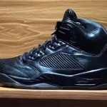 """【7月発売】Air Jordan 5 Premium """"Triple Black""""【エア ジョーダン5 プレミアム】"""