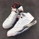 """【リーク】Air Jordan 5 """"White Cement"""" 【エアジョーダン 5 ホワイトセメント】"""