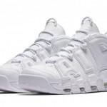 """【国内5月26日9:00】Nike Air More Uptempo """"Triple White"""" 921948-100【モア アップテンポ】"""