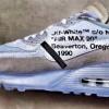 【リーク】OFF-WHITE x Nike Air Max 90 Ice 10x 【オフホワイト エアマックス90 】
