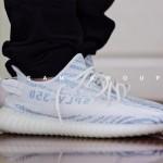 """【リーク】adidas Yeezy Boost 350 V2 """"Blue Zebra""""【イージーブースト 350 V2 ブルーゼブラ】"""