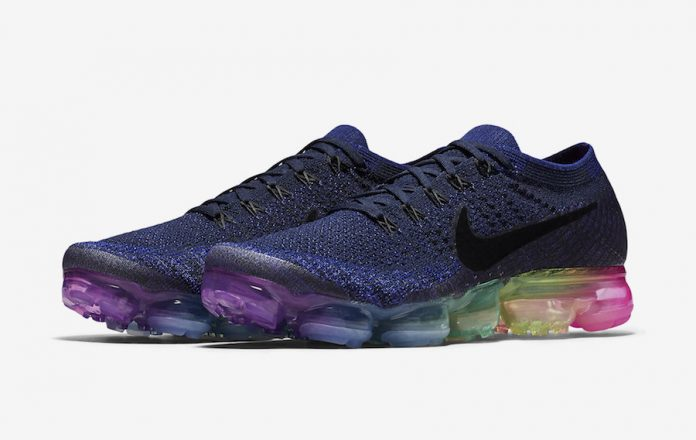 """2094d1e1a0d 6月1日発売 Nike Air VaporMax """"Be True"""" ナイキエア ヴェイパーマックス ..."""