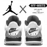 【リーク:5月発売予定】OFF-WHITE x Air Jordan 3 OG【オフホワイト x エアジョーダン3】