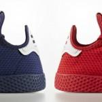 """【リーク】Pharrell x adidas Tennis Hu """"Navy & Red""""【ファレル・ウィリアムス x アディダス】"""