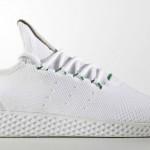 """【5月発売】Pharrell x Adidas Tennis Hu """"White/Green""""【ファレル・ウィリアムス x アディダス】"""