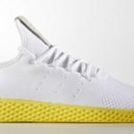 """【5月発売】Pharrell x adidas Tennis Hu """"White/Yellow""""【ファレル・ウィリアムス x アディダス】"""