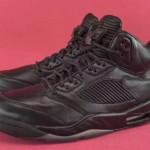 """【7月8日発売予定】Air Jordan 5 Premium """"Triple Black"""" 【エアジョーダン5プレミアム】"""