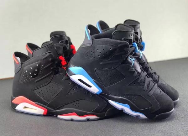 """【12月23日発売予定】Air Jordan 6 """"University Blue""""【エアジョーダン6 ユニバーシティーブルー】"""