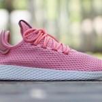 """【8月10日発売】Pharrell x adidas Tennis Hu """"Raw Pink""""【ファレル x アディダス】"""