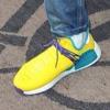 """【リーク】Pharrell Williams x adidas NMD Hu Trail """"Yellow/Green""""【ファレル・ウィリアムス x アディダス NMD】"""